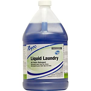 Nyco Products NL929-G4 Liquid Laundry Detergent, 1-Gallon Bottle