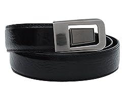 Walletsnbags Aristocrat Leather Belt (B 38_Black_30)