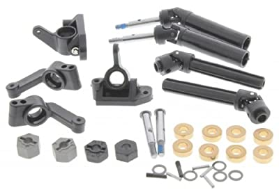Traxxas RUSTLER XL-5 * DRIVE SHAFTS REAR AXLES SPINDLES BUSHINGS & 12MM HEX HUBS