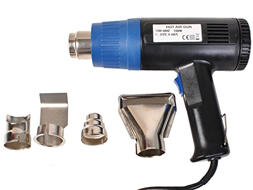 Super-buy-Heat-Gun-Hot-Air-Gun-Dual-Temperature4-Nozzles-Power-Tool-2-Year-Warranty