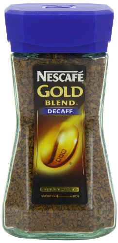 Nescafe Gold Blend Decaffeinated Coffee 100 g (Pack of 2)