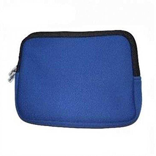 XiRRiX Premium Neopren Netbook Mini Notebooktasche Universal - Sleeve - bis 11,6 Zoll (29,4 cm) - neon blau
