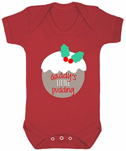Bullshirt con scritta Daddy' s Pudding Body