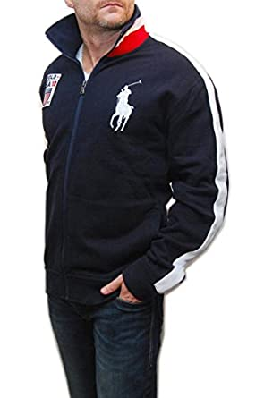 ... Polo Ralph Lauren Mens Big Pony Waimea Jacket Navy ...