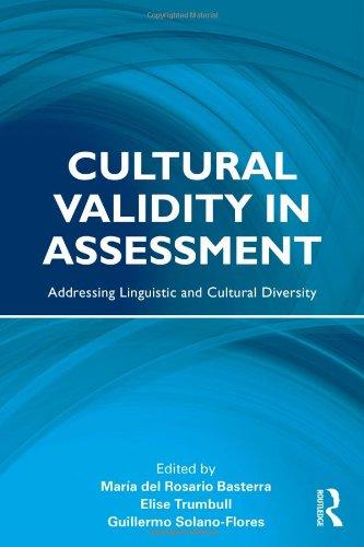 Cultural Validity in Assessment: Addressing Linguistic...