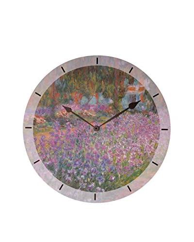 Artopweb Orologio Da Muro Monet Jardin A Giverny