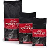 WORLD'S BEST CAT LITTER 391035 Multiple Cat Clumping Litter Formula, 28-Pound