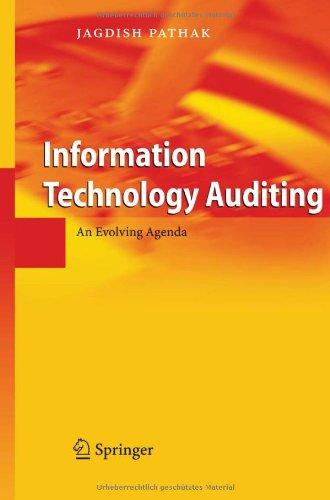 Information Technology Auditing: An Evolving Agenda