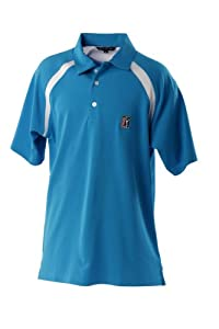 PGA Tour Fresno Polo homme Turq Small