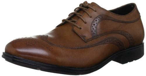 Rockport Men's Fairwood 2 Wingtip Light Tan Shoe K72397 9.5 UK