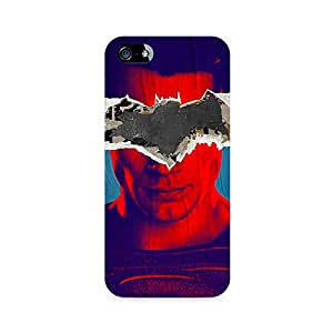 Ebby Superman with Batman Logo Premium Printed Case For Apple iPhone 4/4s