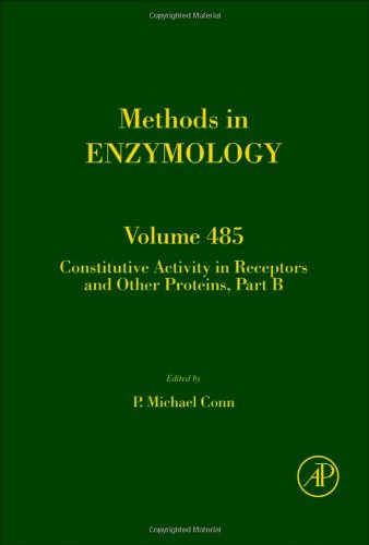 Constitutive Activity In Receptors And Other Proteins, Part B, Volume 485 (Methods In Enzymology)
