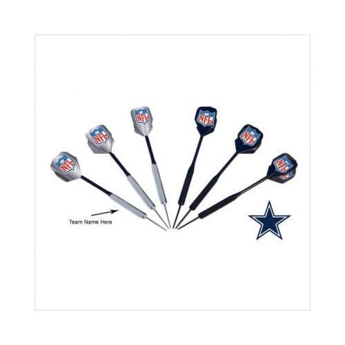 Amazon.com : NFL Dallas Cowboys Steel Tip Dart Set : Sports Fan Dart