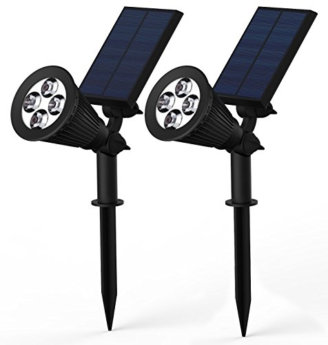 Adjustable Waterproof LED Solar Lights