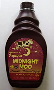 Trader Joe's Organic Midnight Moo Chocolate Flavored Syrup 2 Pack