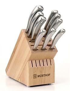 Wusthof Culinar 10-Piece Profile Knife Block Set