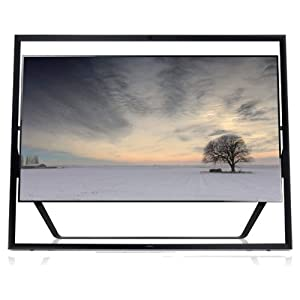 Samsung UN85S9 Framed 85-Inch 4K Ultra HD 120Hz 3D Smart LED TV