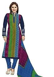 Komal art Ethnicwear Women's Dress Material(Komal art_Preyanshi5105_Multi-Coloured_Free Size)
