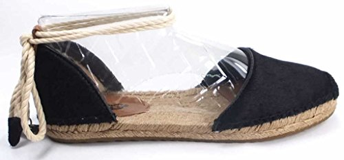 Ugg Australia Women's Libbi Calf Hair Black Espadrilles In Size 38 Black