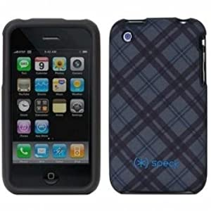 Speck Products Fitted2 Case for iPhone 3G, 3GS (TartanPlaid Gray)