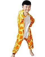 Zicac Children Kids Anime Cosplay Costumes Onesie Children and Adult Children Kids Pajamas Pyjamas Sleepwear Nightclothes Cosplay Christmas Gift