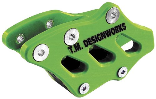 T.M. Designworks Factory Edition Rear Chain Guide - Green Rcg-Kx2-Gr