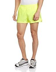 Reebok Men's Synthetic Shorts (4056563876008_AF2051_X-Large_Syello)
