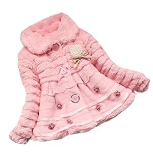 Amazon.com: Junoesque Baby Toddlers Girls Faux Fur Fleece