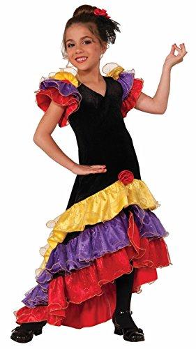 Girls (Halloween Costumes Flamenco Dancer)