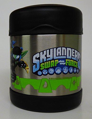 Skylanders Swapforce Thermos Funtainer 10 Oz Food Jar front-617367