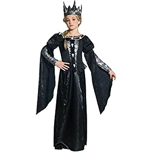 Girl's Tween Snow White and the Huntsman Deluxe Revenna Skull Dress Costume