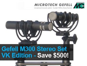 Gefell M300 Stereo Set - Vintage King Edition from Microtech Gefell