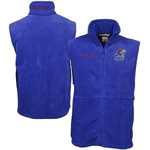 Columbia Kansas Jayhawks Adult Collegiate Flanker Vest by Columbia