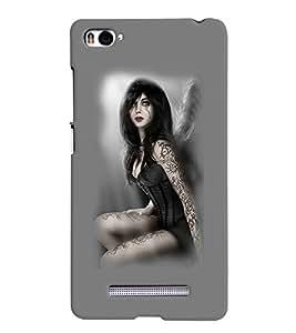 PrintVisa Hot & Sexy Angel Girl 3D Hard Polycarbonate Designer Back Case Cover for Xiaomi Redmi Mi4i