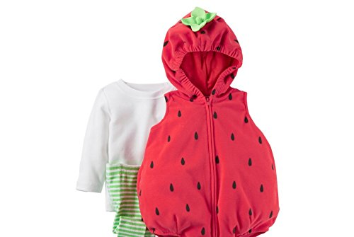 [Carters Baby Halloween Costume Many Styles (3-6m, Strawberry)] (3-4 Halloween Costumes)