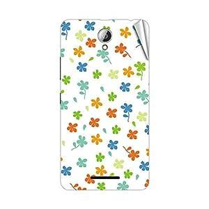 Garmor Designer Mobile Skin Sticker For Lenovo A678T - Mobile Sticker