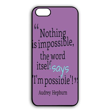 [Audrey Hepburn Individualized Black Snap On Cases for iPhone 7(4.7 Inch Screen)] (Peter Pan Cast Costumes)