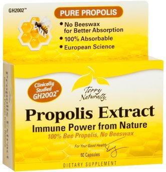 Propolis Extract EuroPharma (Terry Naturally) 60 Caps (Extract Naturally compare prices)