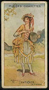 Patience 1925 Player Cigarettes Gilbert and Sullivan #22 (FAIR) crease