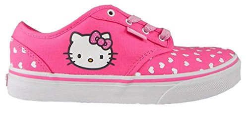 New-Vans-Atwood-Girls-Sizes-Pink-Hello-Kitty-Shoes