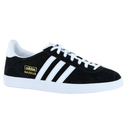 vena Fobia Instalación  Adidas Gazelle OG Black White Suede Womens Trainers Size 7 5 US - Vincent  R. Creasmanyer