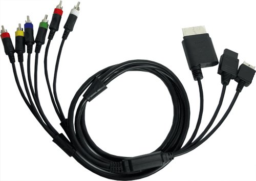MADCATZ MOV06155V/04/1 Universal Component Cable, 6 ft (1.8m)