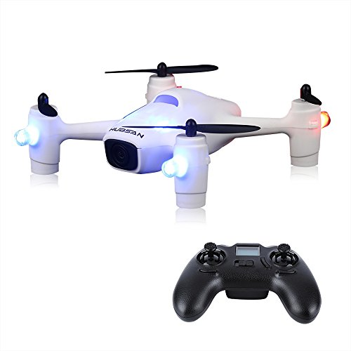 GBB Hubsan H107C + Portable RC Quadcopter con fotocamera da 2 megapixel HD Drone UAV, 2.4GHz 6 Axis Gyro FPV Quadrirotore - Bianco