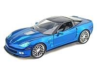 ダイキャストカー 2009 コルベット ZR1 Jet Stream ブルー 1/18 (並行輸入品)