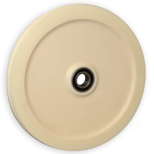 """Isheaves 12-Nri Nylon Sheave (Pulley) 12"""" Root Dia., 14.25"""" Od, 5/8"""" Round Groove front-394609"""