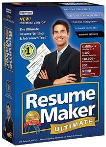 RESUMEMAKER ULTIMATE 5 (SOFTWARE - PRODUCTIVITY)