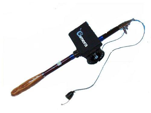Big Catch 赤外線搭載 録画機能付 水中カメラ リール&ロッドセット