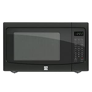 Kenmore 1.2 cu. ft. Countertop Microwave w/ EZ Clean Interior Black 72129 from Kenmore
