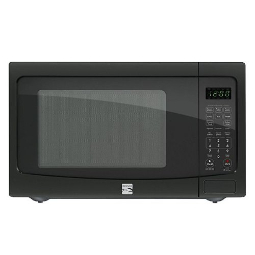 Kenmore 1.2 cu. ft. Countertop Microwave w/ EZ Clean Interior Black 72129