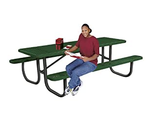 Ultra Play Portable Outdoor Rectangular 6 Table With Perforated Pattern from Ultra Play